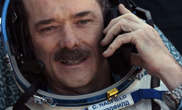Thomas Marshburn, Roman Romanenko, Chris Hadfield